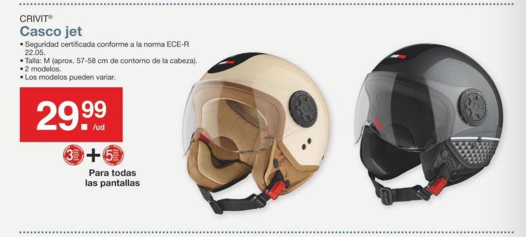 Casco Moto Jet CRIVIT®