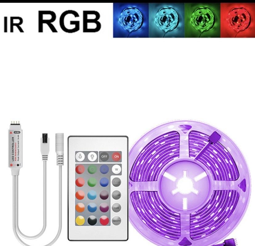 Tira de luces LED RGB de 5 metros