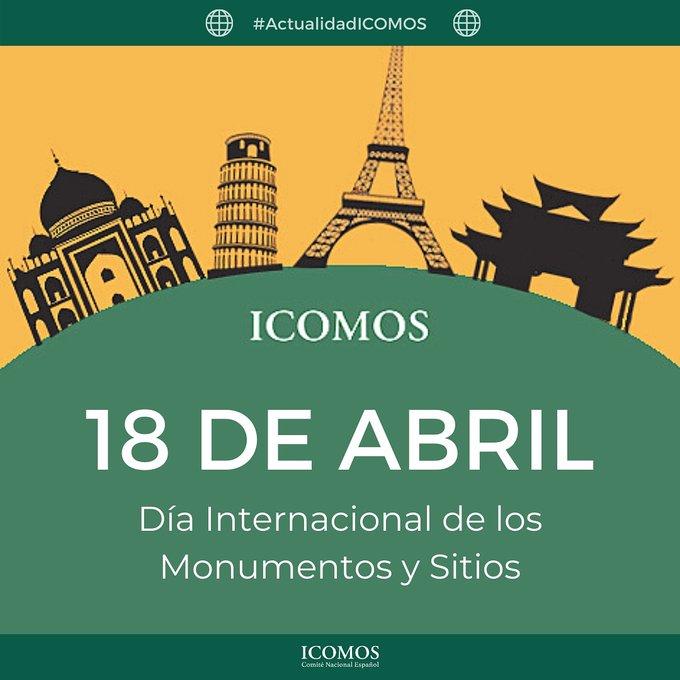 """Recopilación - Actividades gratis """"Día Internacional de los Monumentos y Sitios"""" (18 de abril de 2021)"""