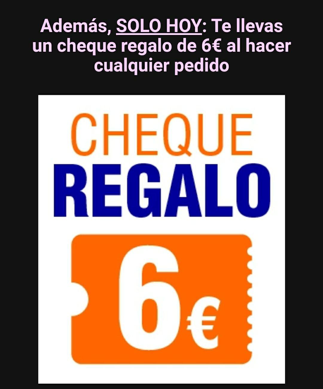 Cupón de 6€ al realizar hoy una compra - OutletSalud