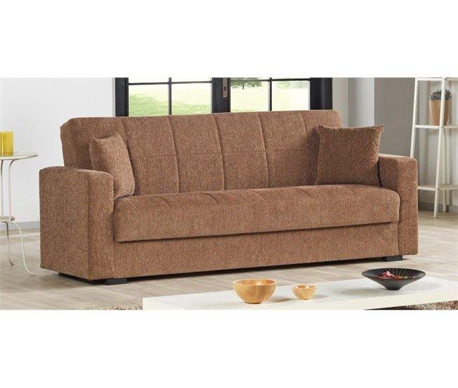 Sofá cama NORA (en gris o visón)