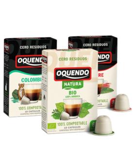 Cafes Oquendo 20% + 10% descuento en toda la tienda con envio gratis
