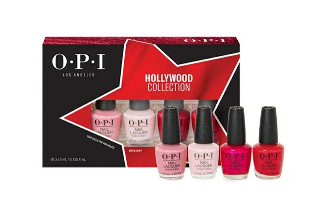 OPI pack Mini esmaltes Holliwood