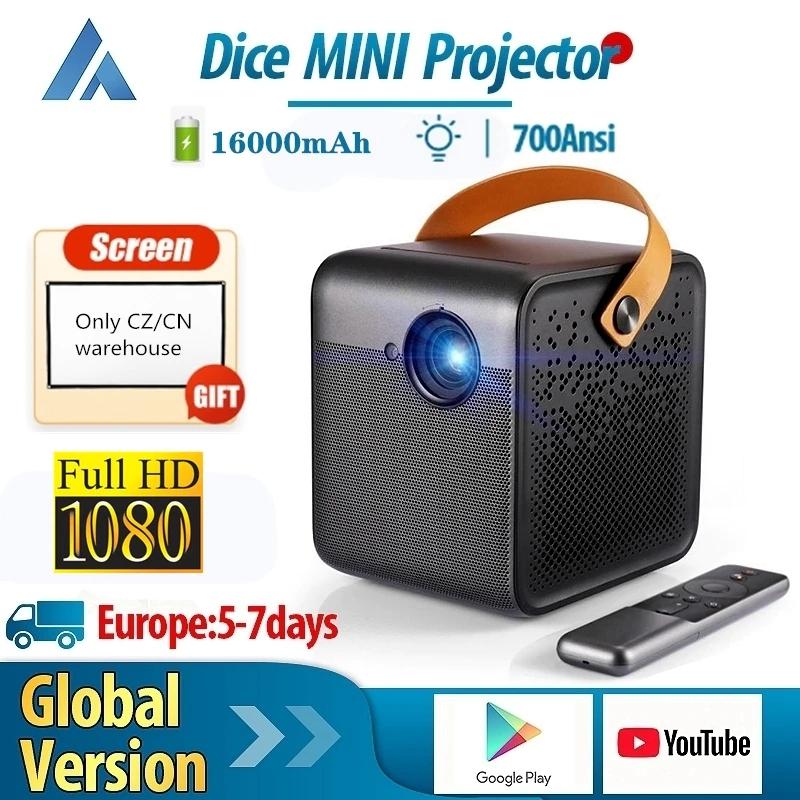 Mini proyector 1080p y 700lm con Chromecast integrado