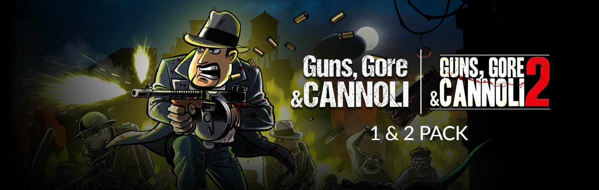 Guns, Gore & Cannoli 1 + 2 Pack -87% 22,98 € 2,99 €