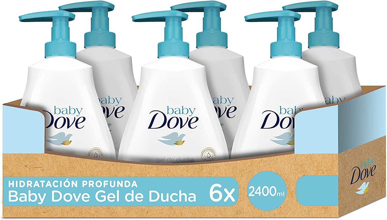 6x Baby Dove gel de baño solo 6.7€