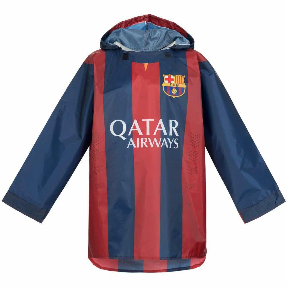 Chubasquero FC Barcelona y otros equipos