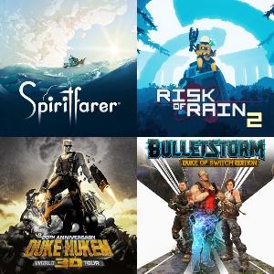 Duke Nukem 2,90€, Spiritfarer 3,70€, Risk of Rain 2 y Bulletstorm [Nintendo Switch]