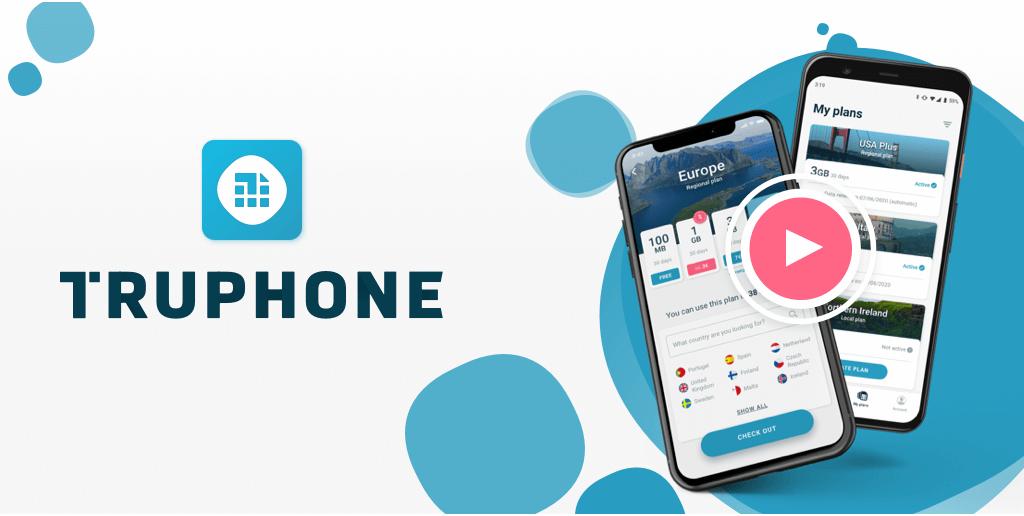 ESim gratis con Truphone + 100 mb gratis por 30 días