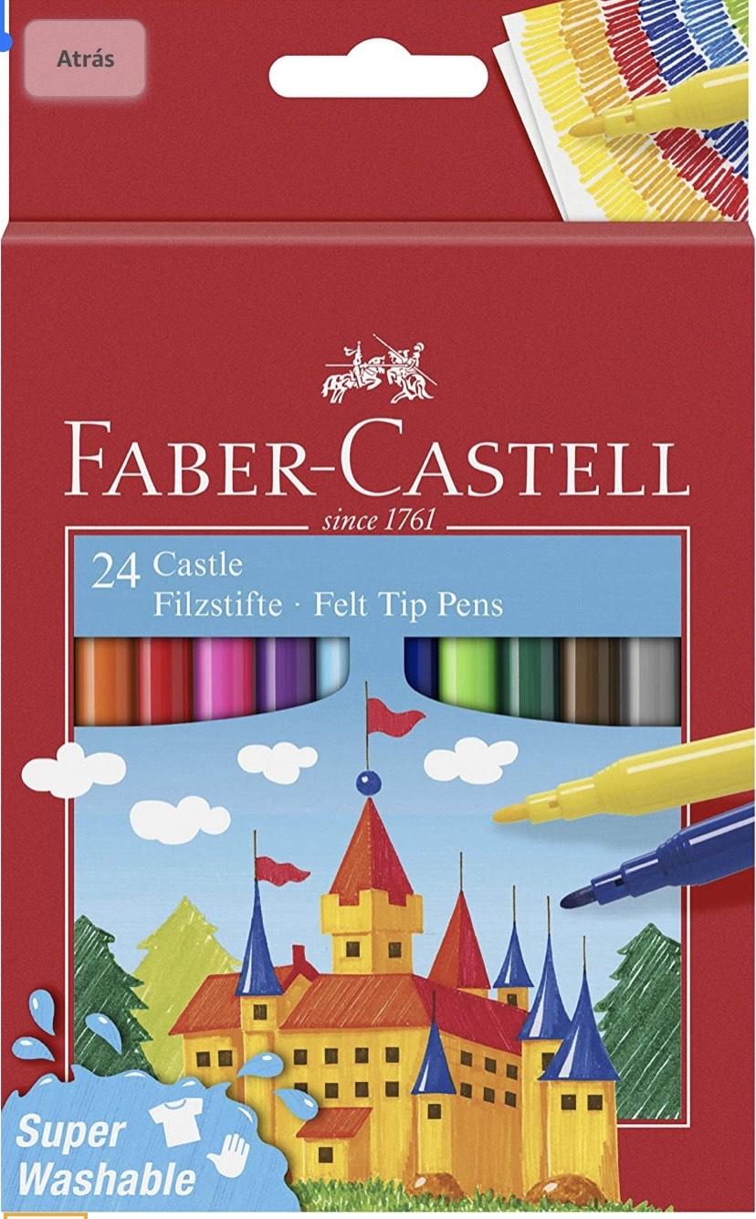 Faber-Castell- Estuche cartón con 24 rotuladores