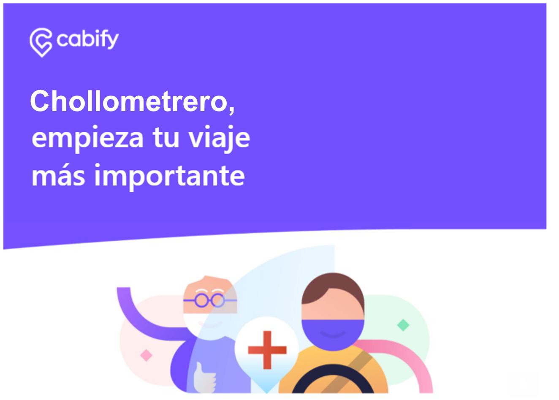 Viaja gratis a vacunarte con Cabify