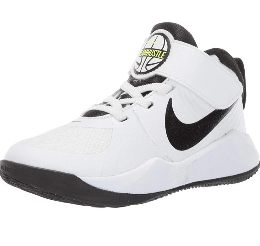 Zapatillas de baloncesto para niños NIKE Team Hustle D 9 (PS),