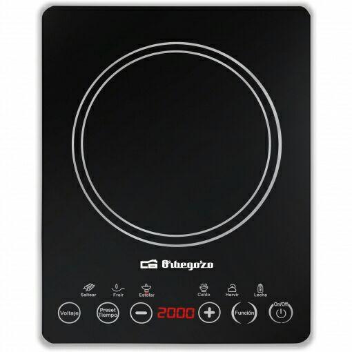 Cocinas portátiles Placa de Inducción Portátil Orbegozo PI 4800