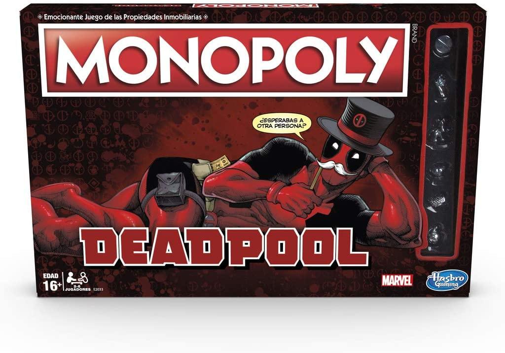 Monopoly edición Deadpool en tiendas MGI