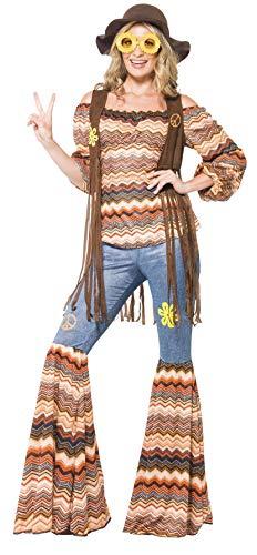 """Disfraz de Hippie Armonía TALLA """"L"""""""