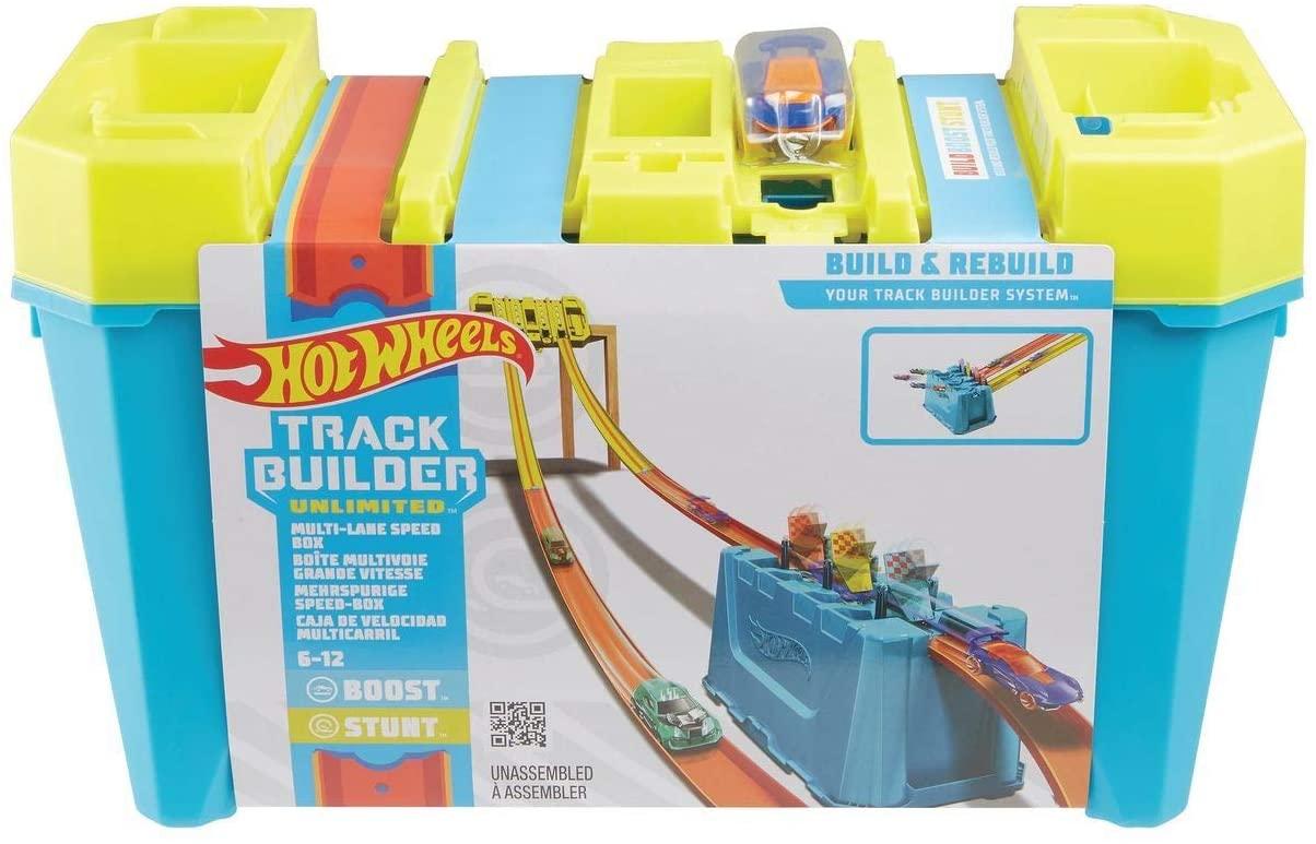 Hot Wheels Tracker Builder solo 22.9€