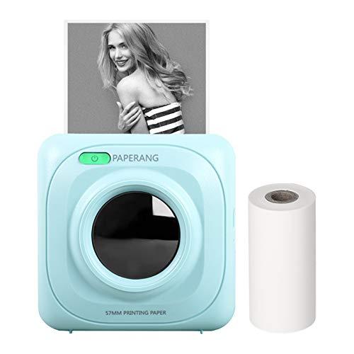 Mini Pocket Printer Bluetooth Impresora térmica inalámbrica portátil, varios colores.