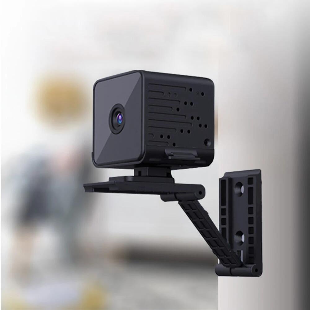 Mini Cámara 1080p con visión nocturna y detección de movimiento