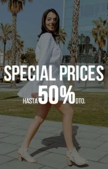 Hasta 50% de descuento en zapatos