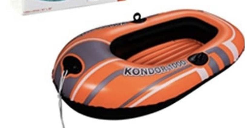 Bestway 61099 - Barca Hinchable Hydro-Force Raft Kondor 1000 1 Persona