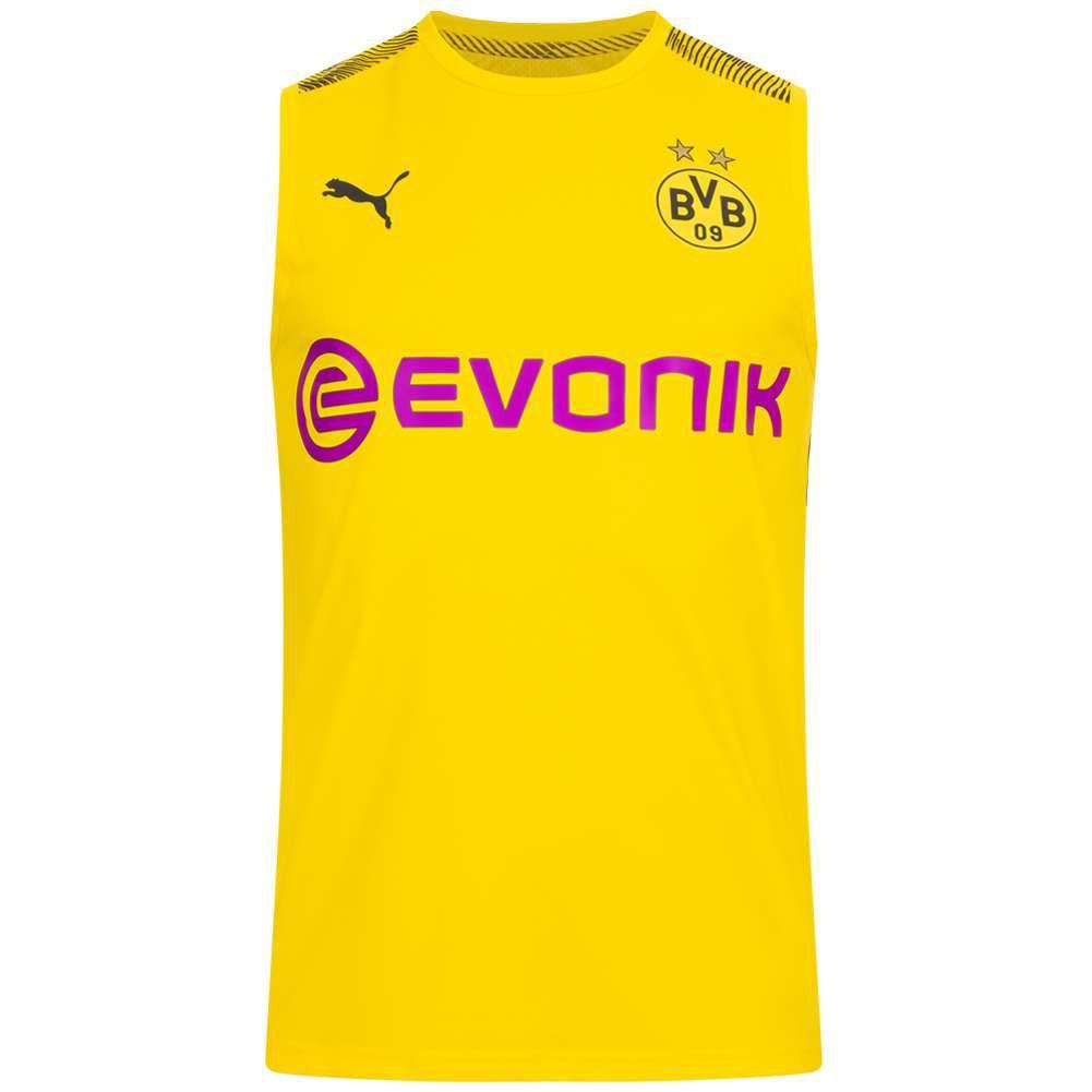 Borussia Dortmund PUMA Hombre Camiseta sin mangas (Tallas M y L)