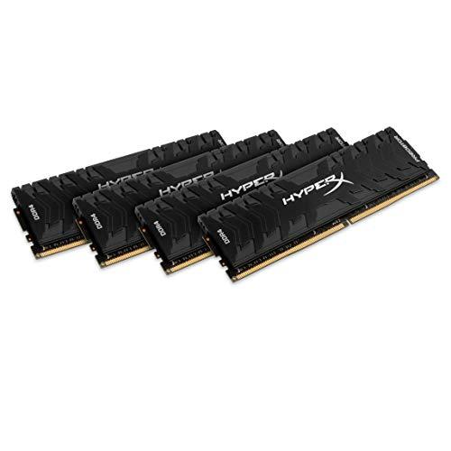 HyperX Predator - Memoria RAM de 64 GB (DDR4, Kit 4 x 16 GB, 3333 MHz, CL16
