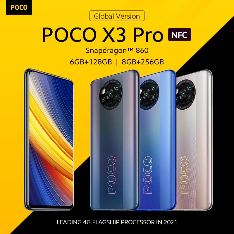 Xiaomi POCO X3 PRO 6GB/128GB - Desde España