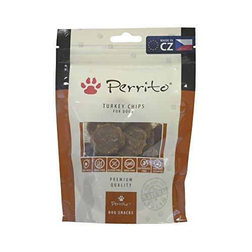 Perrito turkey chips perros, 10 x 100g