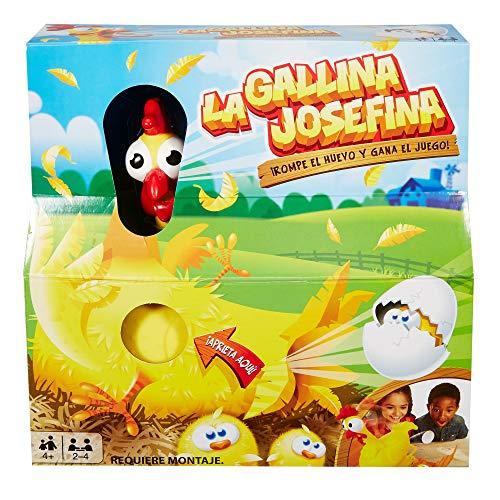 Mattel juego de mesa la gallina Josefina.