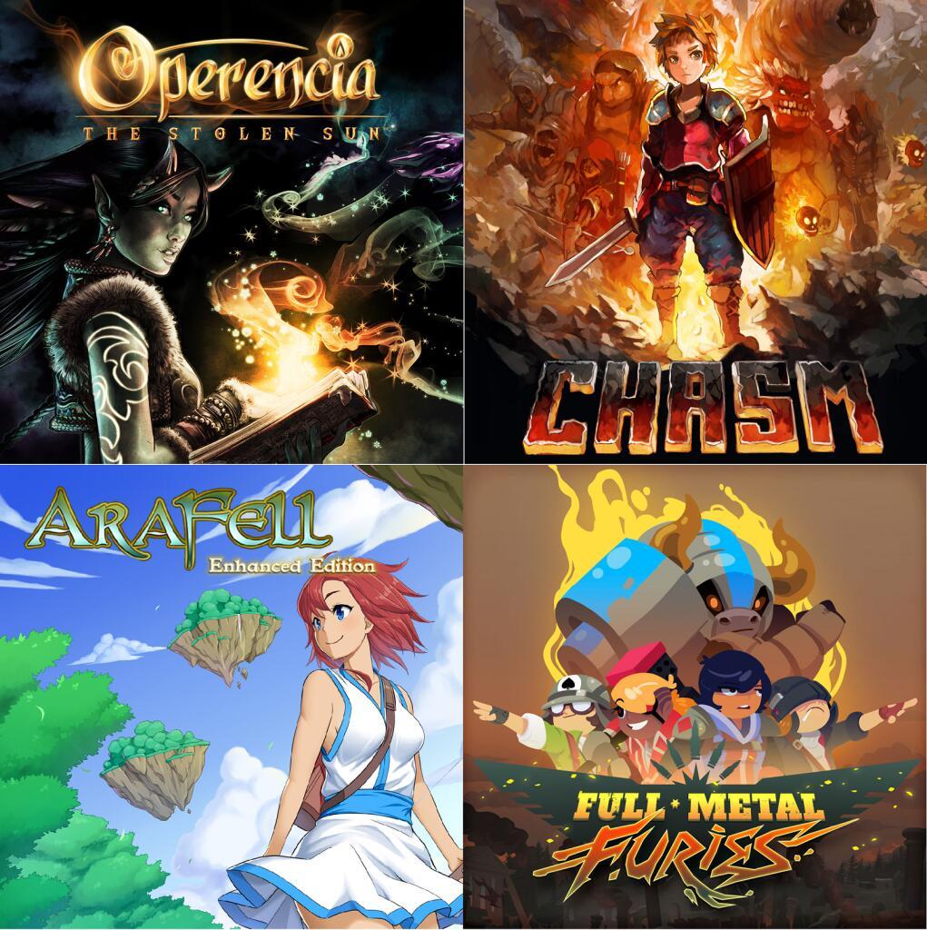 Recopilación RPG Nintendo Eshop