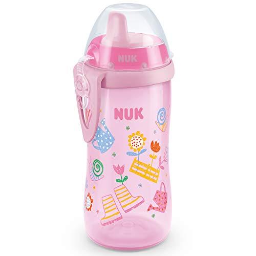 NUK First Choice Kiddy Cup - Vaso para aprender a beber, color rosa