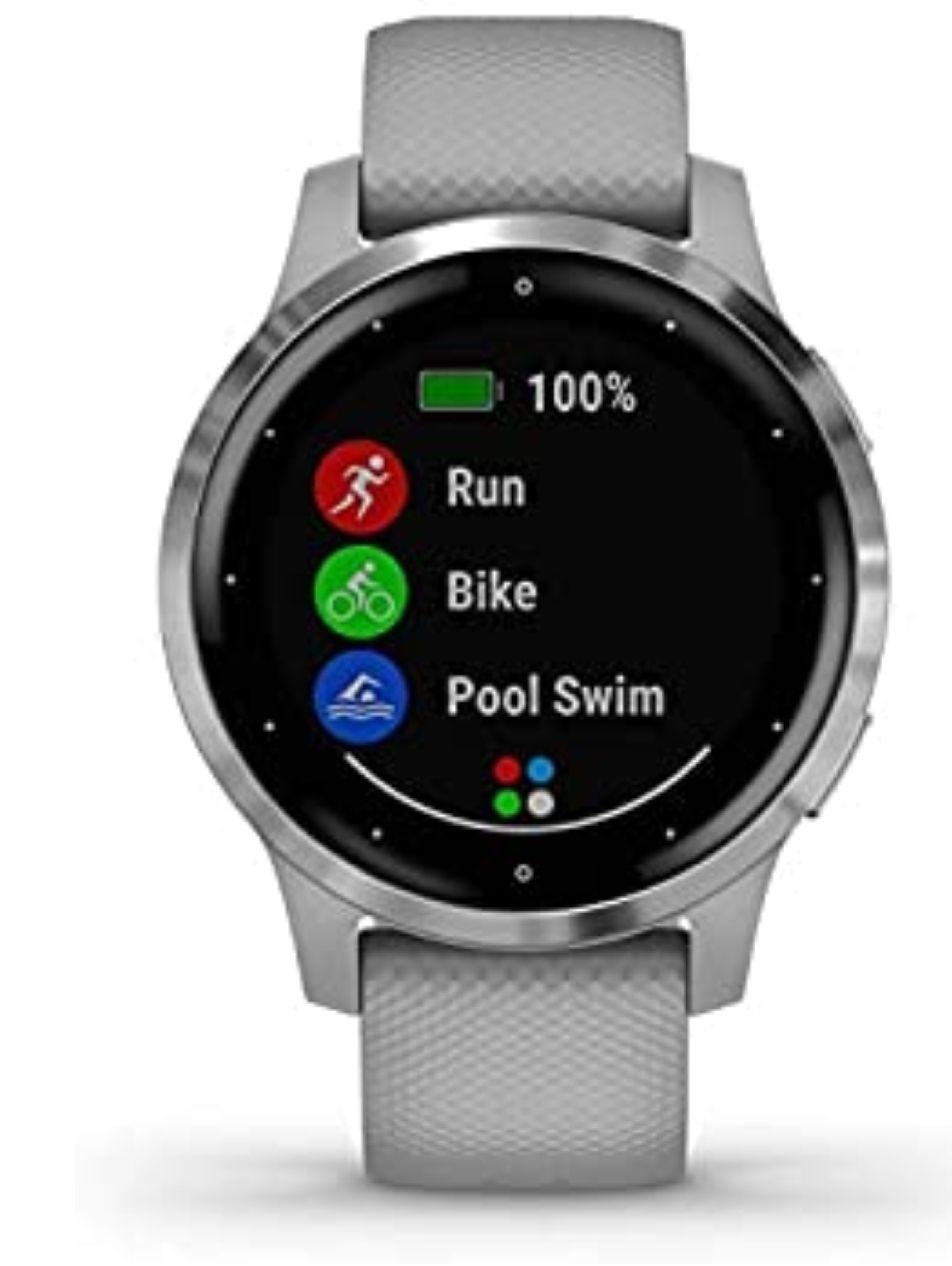 Garmin Vívoactive 4S - Reloj Inteligente con GPS y Funciones de Control de la Salud +Garmin Pay (Nfc)