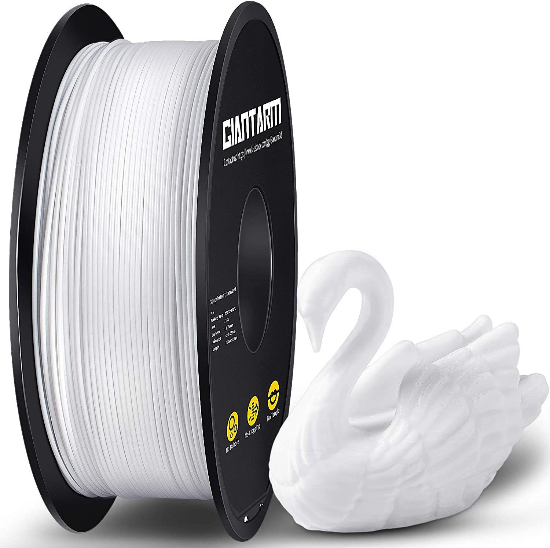 GIANTARM Filamento PLA 1.75 mm, Filamento para impresora 3D, 1 kg (blanco) Marcar aplicar cupon 3 euros