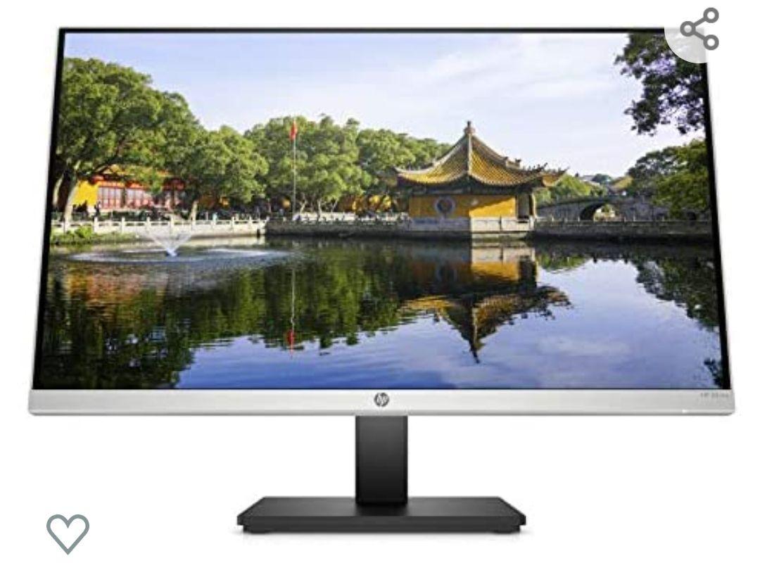 "HP 24mq - Monitor de 23.8"" (QHD, 2560 x 1440 pixeles, tiempo de respuesta de 5 ms, 1 x HDMI, 1 x VGA, 16:9)"