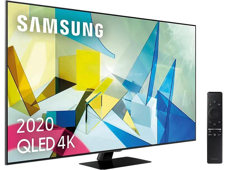 """TV QLED 65"""" - Samsung QE65Q82TATXXC, UHD 4K Direct Full Array HDR 1500, Asistente de voz, Quantum Processor 4K"""