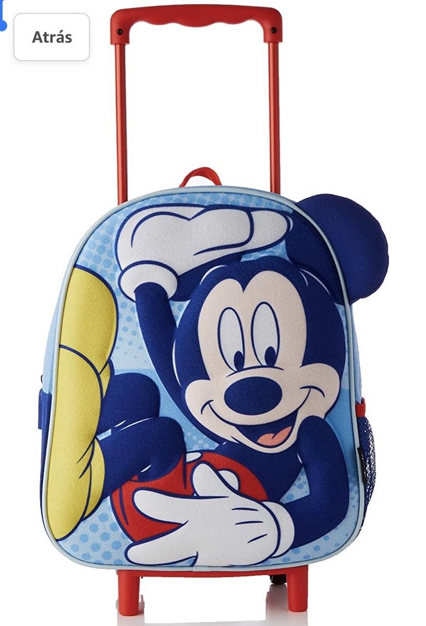 Mochila con Ruedas Infantil 3D Mickey