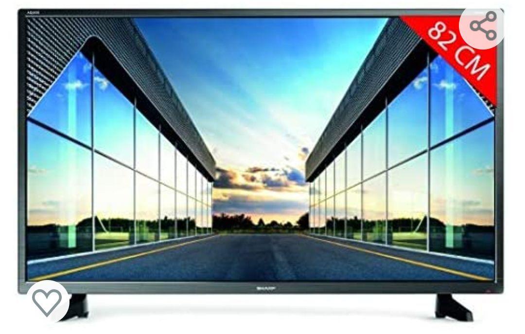 """Sharp 32CB2E - TV 32 Pulgadas 32"""" (resolución 1368 x 720, 3X HDMI, 2X USB)"""