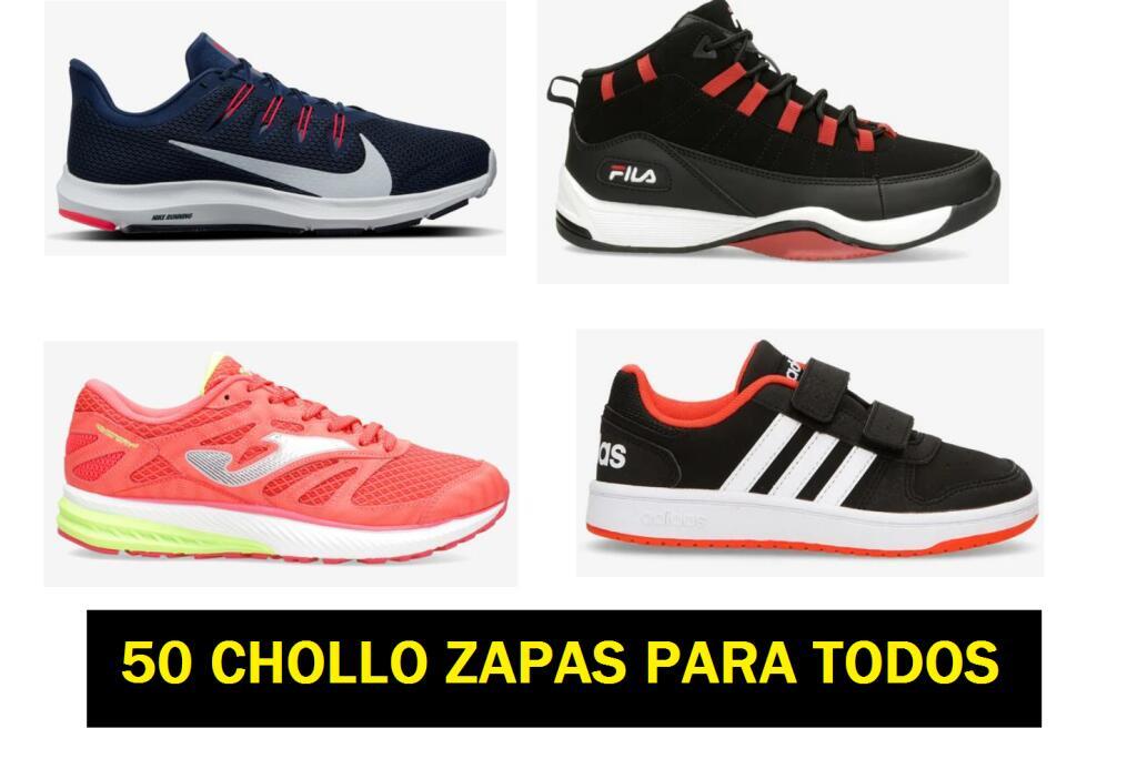 50 CHOLLO ZAPAS PARA TODOS