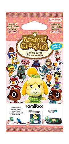 Nintendo - Pack 3 Tarjetas amiibo Animal Crossing HHD - SERIE 4 Nintendo