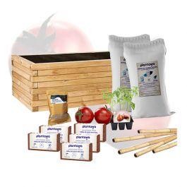 Kit de Cultivo de Tomate con Jardinera completo