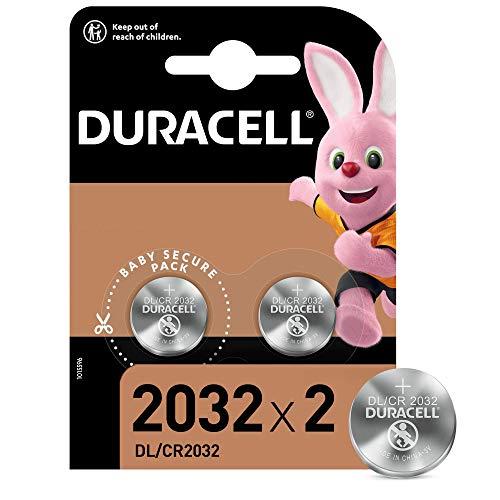 Duracell Pilas de botón de litio CR2032 /< Pack 2 / PS4 & Otros Dispositivos Electrónicos |