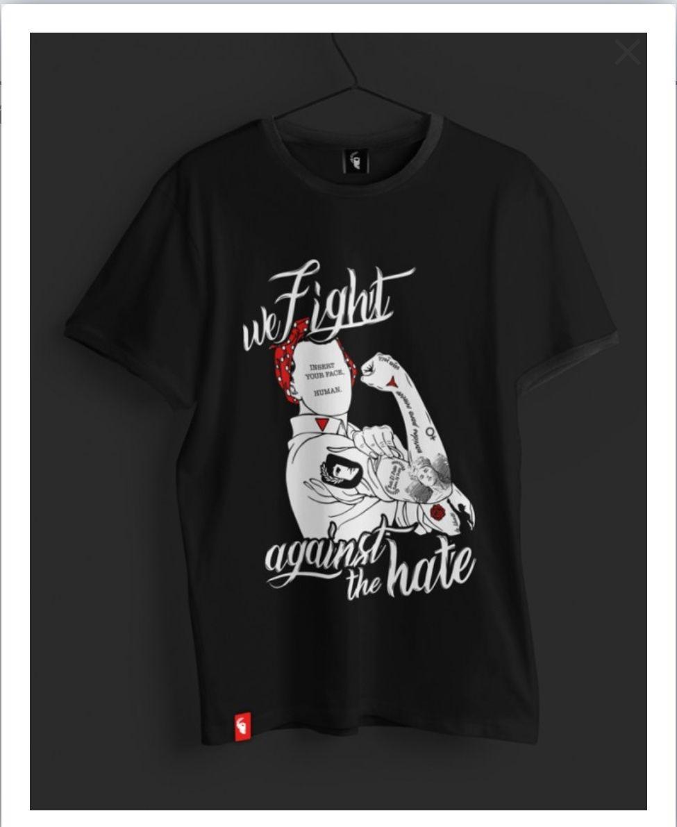 Camiseta Against Hate Unisex