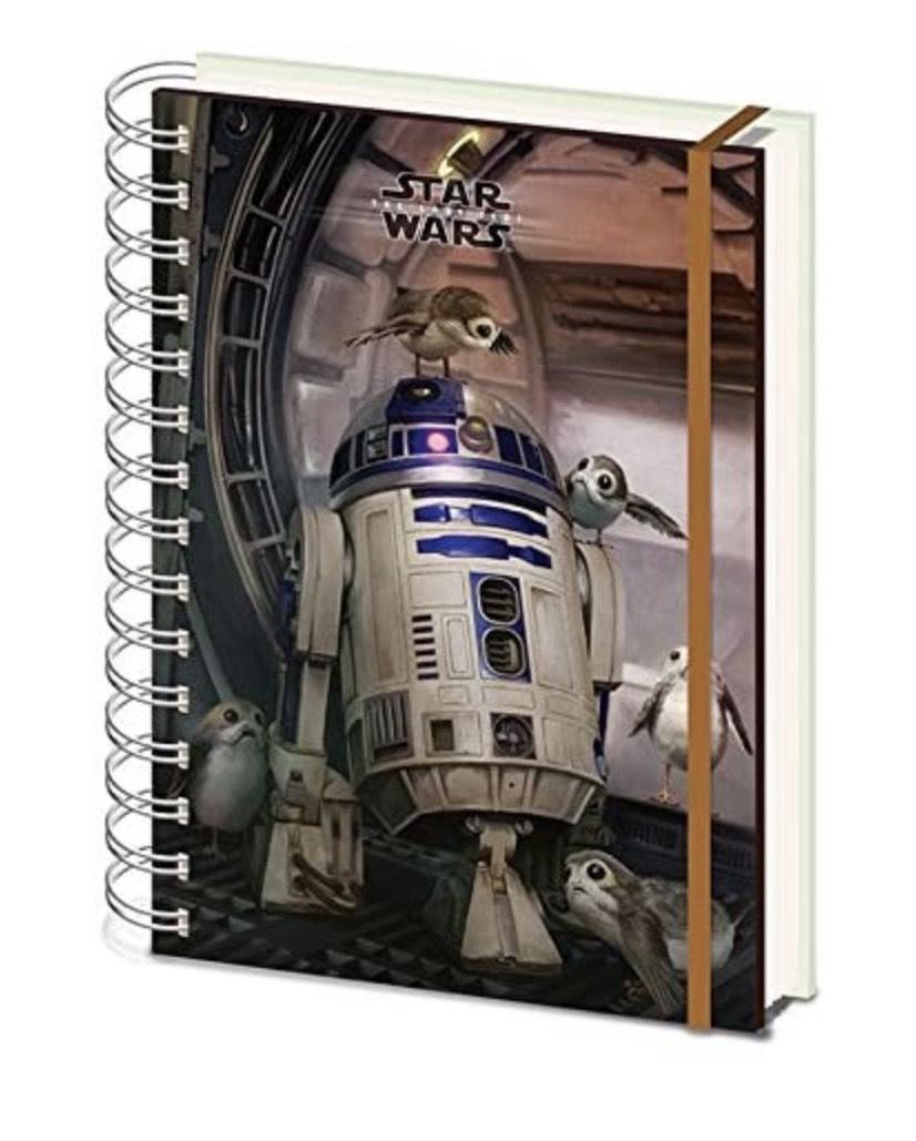 Libreta tamaño A5 Wiro R2-D2 &