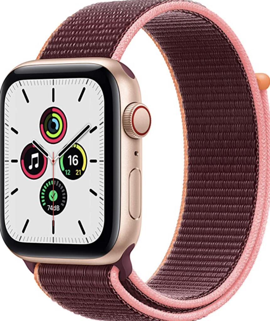 Apple Watch SE 44 mm GPS + LTE (Versión oro)
