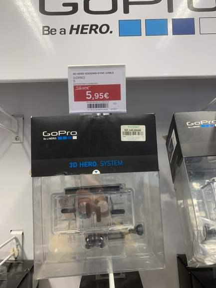 Accesorios GoPro Visto en el corte inglés de pl. Catalunya