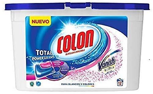 Colon Total Power Gel con Vanish Ultra 12 cápsulas