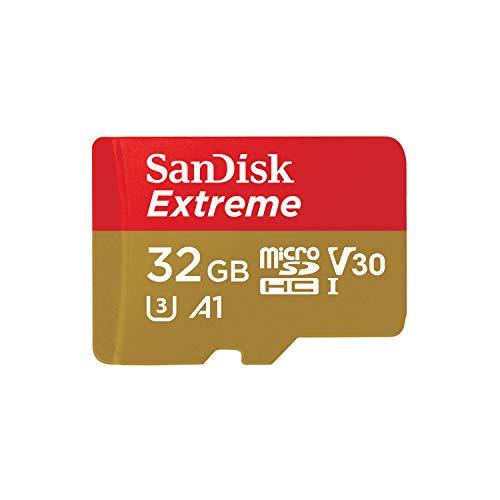SanDisk Extreme - Tarjeta de memoria 32GB microSDHC, velocidad 100 MB/s