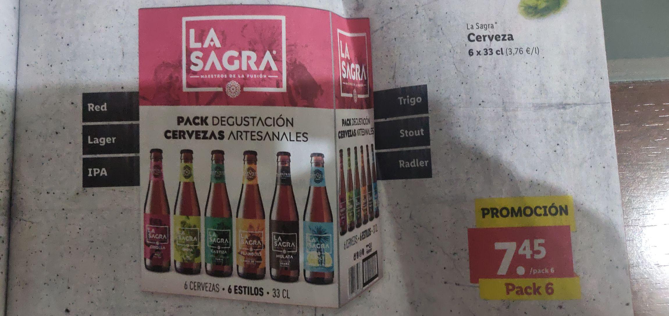 LIDL Pack degustación La Sagra