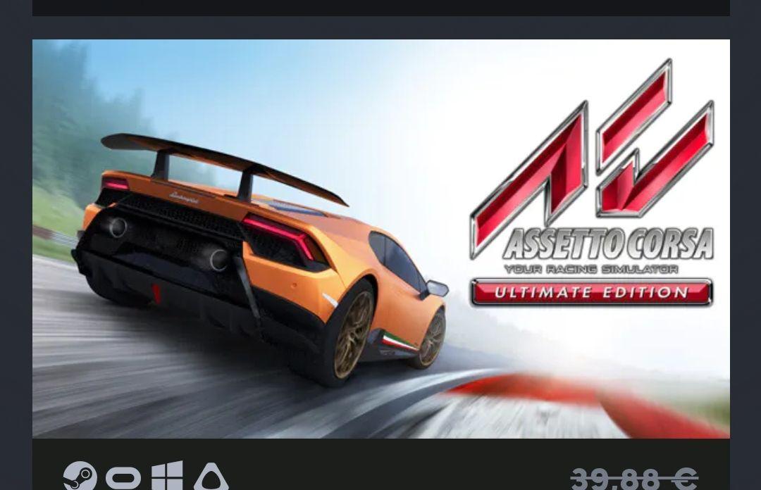 Juego Pc Assetto Corsa Ultimate Edition