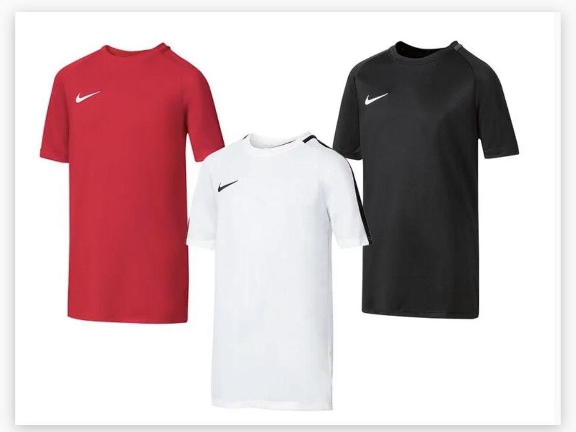 Nike camiseta de manga corta raya júnior
